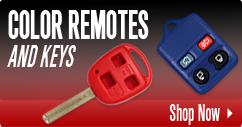 Color Remote And Keys