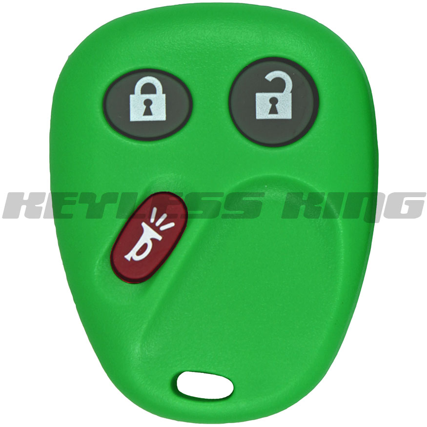 New Green GM Keyless Remote Key Fob Clicker Free Programming on