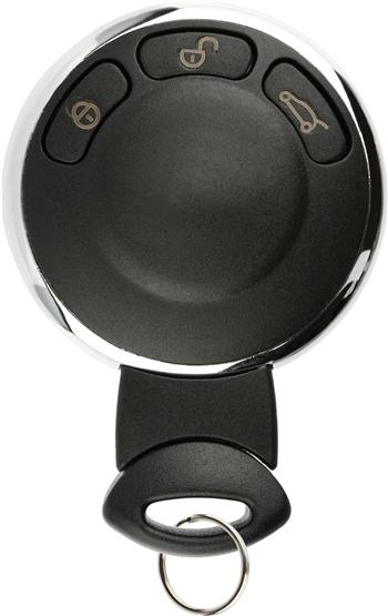 key fob keyless entry remote for mini cooper kr55wk49333. Black Bedroom Furniture Sets. Home Design Ideas