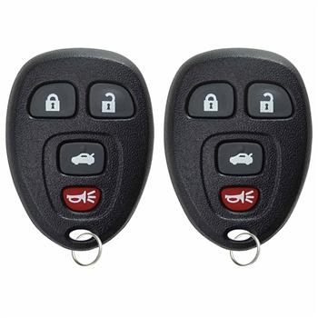 2 Key Fob Keyless Entry Remote For Lacrosse Cobalt Malibu