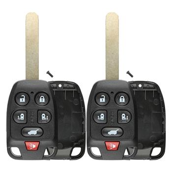 2 Case Shell Key For Honda Odyssey 2011 2012 2013 Keyless